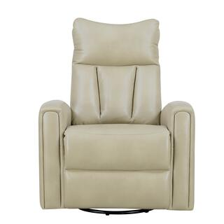 Maverick Swivel Glider Recliner Taupe