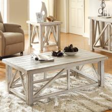 Product Image - Aberdeen - Coffee Table - Weathered Worn White Finish