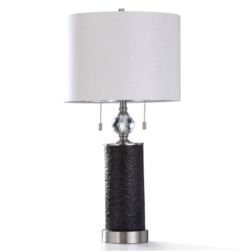 Aglona Table Lamp 32in Ht Twin Pull, Twin Pull Chain Table Lamp