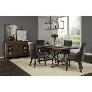 Standard Furniture - Hawkins Sideboard, Warm Walnut Finish