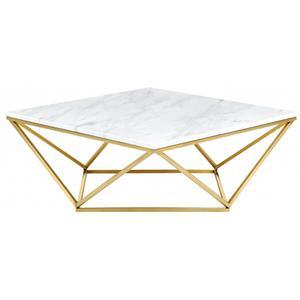 "Mason Gold Coffee table - 36"" W x 36"" D x 14.5"" H"