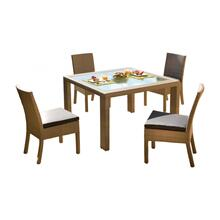 See Details - Cubix 5 PC Side Chair Dining Set