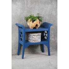 CC-TAB1033LD-SD  Blue Accent Table and Console  Dark Blue