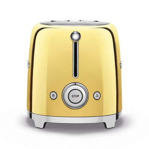 2x2 Slice Toaster, Gold