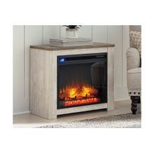 Willowton Whitewash Fireplace Mantel
