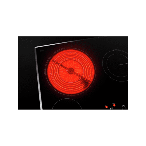 "36"" Oblivion Glass Radiant Cooktop with Halo-Effect Knobs"