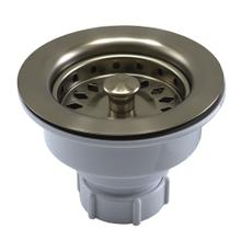 Brushed Nickel Basket Strainer