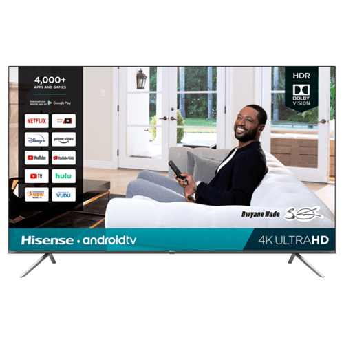 "85"" Class- H65G Series - 4K UHD Hisense Android Smart TV (2020)"