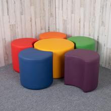 """See Details - Soft Seating Flexible Flower Set for Classrooms and Common Spaces - Assorted Colors (18""""H)"""