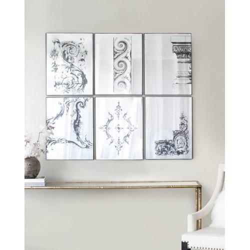 A & B Home - S/6 Mirror
