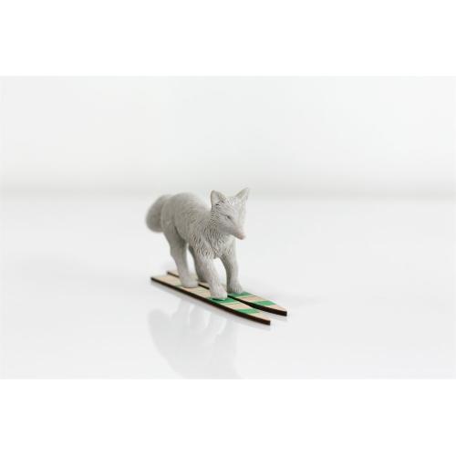 "8.25"" x 1.5"" x 3.25"" E+E Eloise Ski (Figurine Option)"