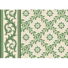 Legacy Collection Tramore - Evergreen on White 1151/0002