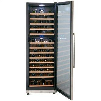 154 Bottle DESIGNER Series Dual-Zone Wine Cooler