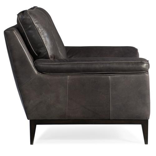 Kandor Leather Stationary Chair