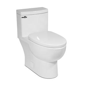 White MALIBU One-Piece Toilet Product Image