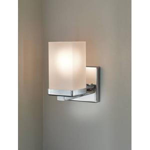 90 Degree chrome bath light