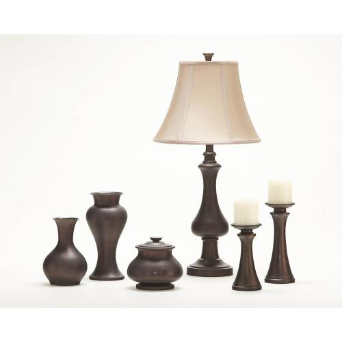 Timber and Tanning Metal Table Lamp (2/CN)