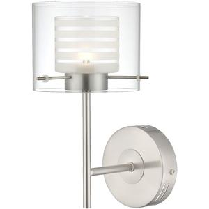 LED Wall Lamp, Ps/double Glass Shade, Type LED 5w