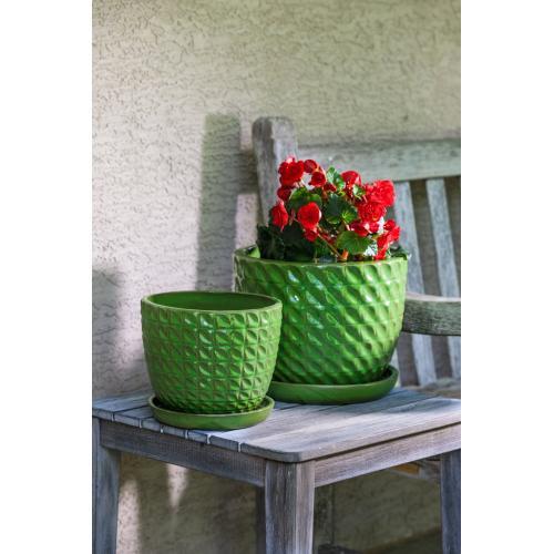 Puffer Planter - Set of 2