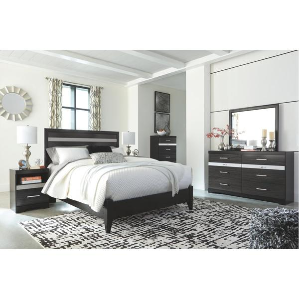 Starberry Queen Panel Bed