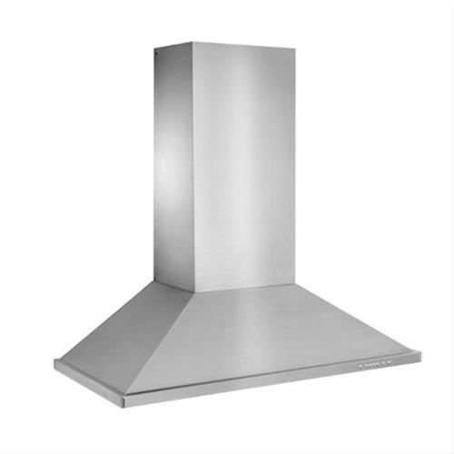 """WTT32 - 48"""" Brushed Stainless Steel Wall Mount Chimney Hood with Internal 1275 Max CFM Blower"""