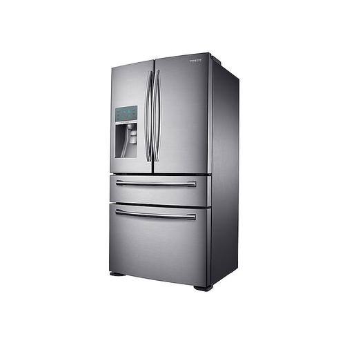 23 cu. ft. Counter Depth 4-Door Refrigerator with FlexZone Drawer in Stainless Steel (This is a Stock Photo, actual unit (s) appearance may contain cosmetic blemishes. Please call store if you would like actual pictures). This unit carries our 6 month warranty, MANUFACTURER WARRANTY and REBATE NOT VALID with this item. ISI 40275 W