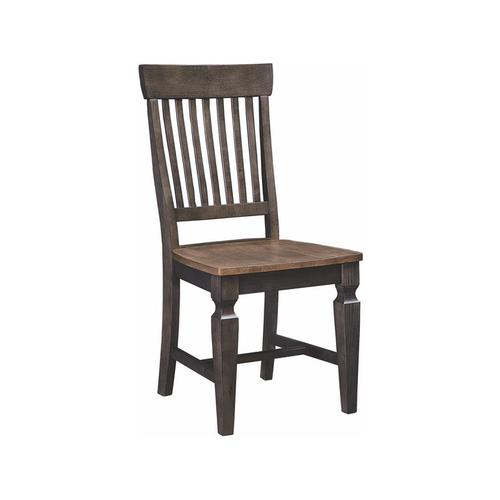 Statback Chair in Hickory & Coal