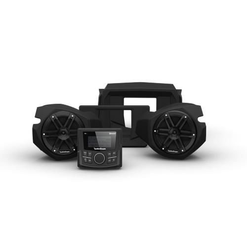 Rockford Fosgate - PMX-1 and Front Speaker Kit for Select Polaris® RZR® Models (Gen-3)