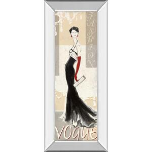 """Vogue"" By Tava Studios Mirror Framed Print Wall Art"