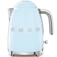 View Product - Smeg 50s Retro Style Design Aesthetic Electric Kettle, Pastel Blue