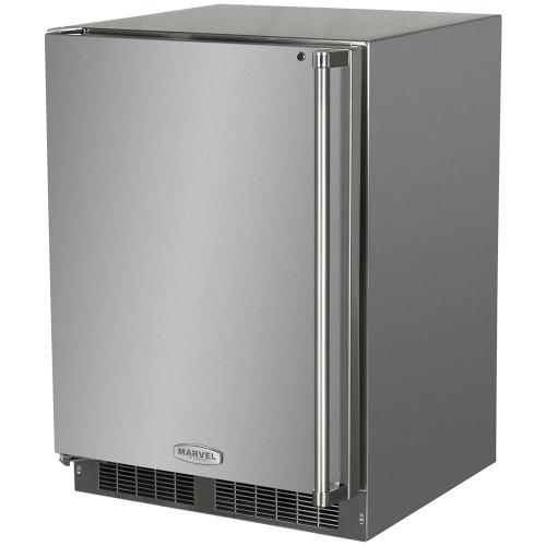 24-In Outdoor Built-In All Freezer with Door Swing - Left