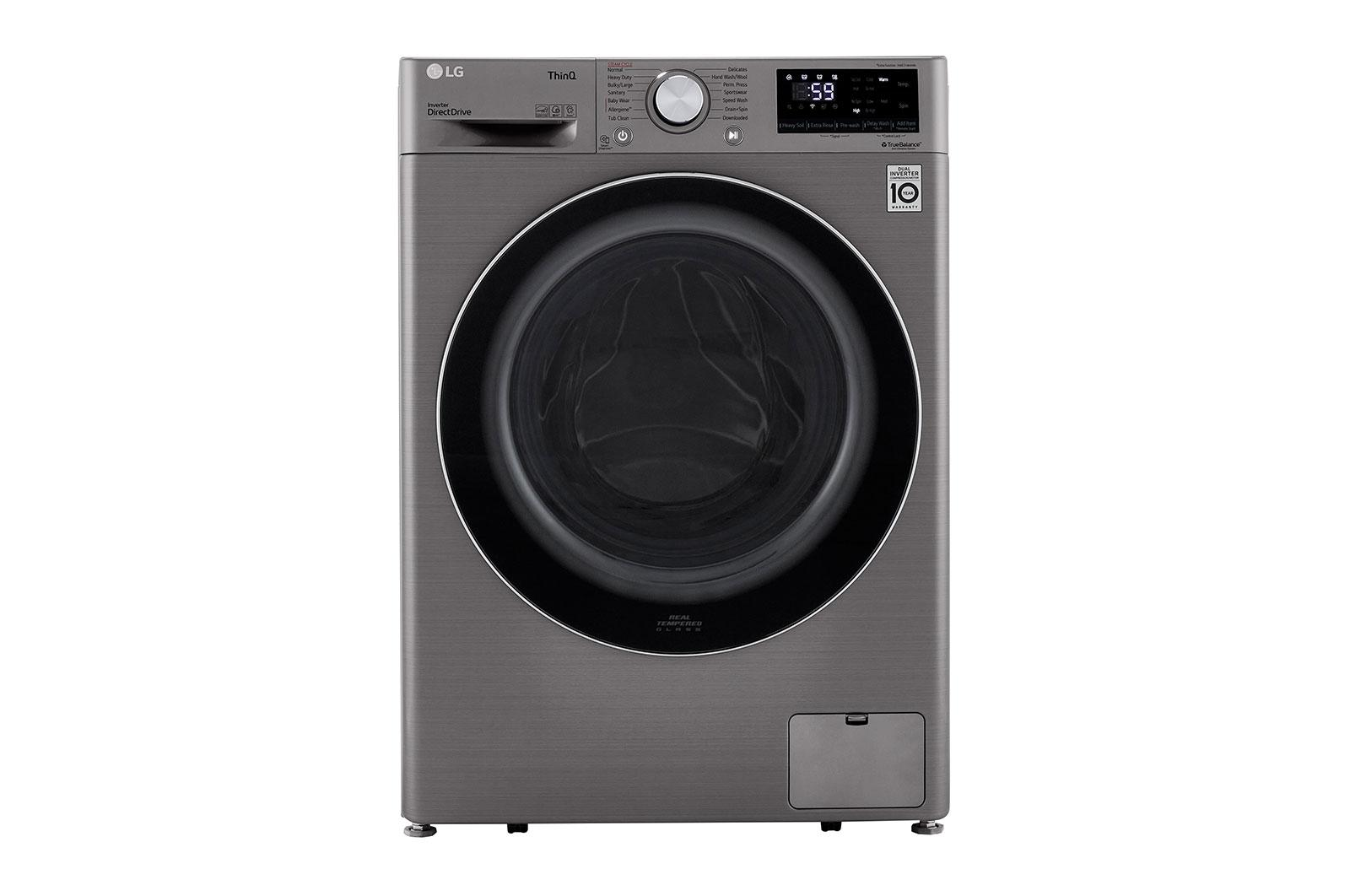 2.4 cu.ft. Smart wi-fi Enabled Compact Front Load Washer with Built-In Intelligence