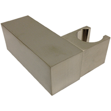 F902-24BN SQU Handshower Holder Adjustable Brushed Nickel