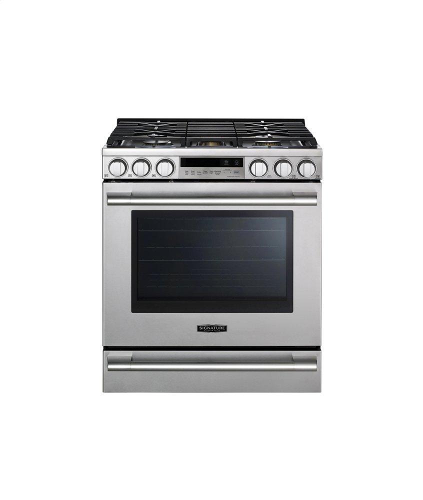 Signature Kitchen Suite30-Inch Gas Slide-In Oven Range