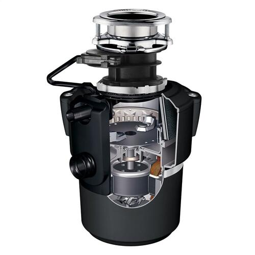 Evolution Pro Cover Control Plus Garbage Disposal with Batch Feed, 7/8 HP