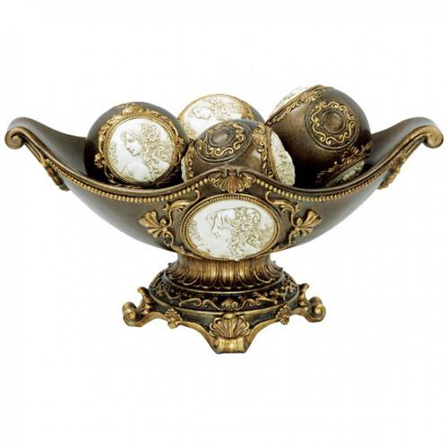 Furniture of America - Sophia Bowl W/ Spheres (2/box)