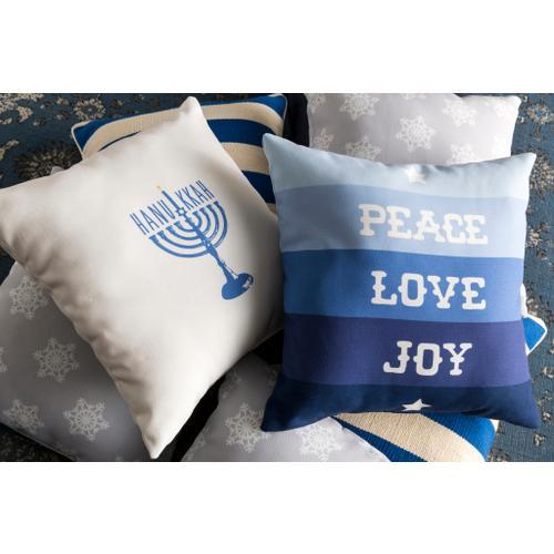 "Peace Love Joy HDY-077 20""H x 20""W"
