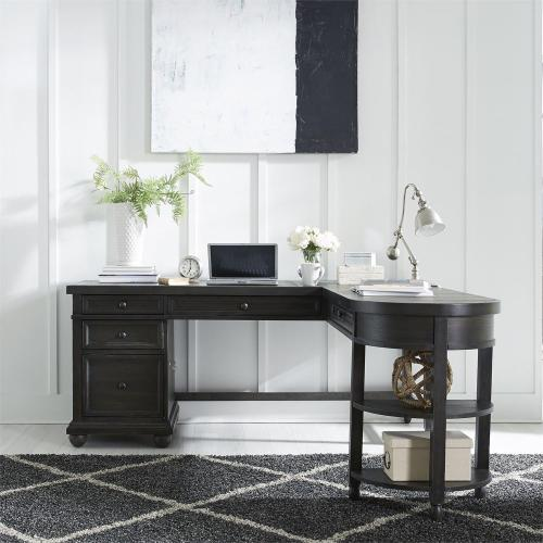Opt L Shaped Desk Set
