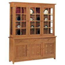 Oak Three Door China Top