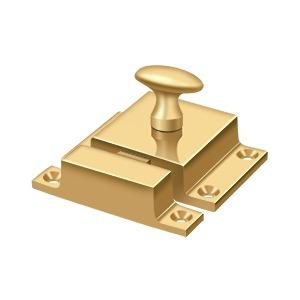 """Deltana - Cabinet Lock, 1-5/8"""" x 2-1/4"""" - PVD Polished Brass"""