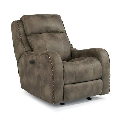 Springfield Power Gliding Recliner with Power Headrest