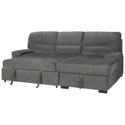 2 Piece Sleeper Sectional With Storage
