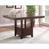 Yorktown 60-inch Storage Counter Table