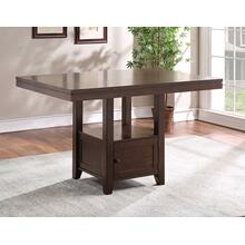 Yorktown 60-inch Storage Counter Table
