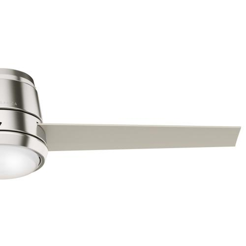 Commodus with LED Light 54 inch - Brushed Nickel - Matte Nickel