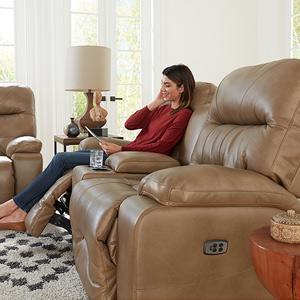 Best Home Furnishings - RYSON LOVESEAT Power Reclining Loveseat