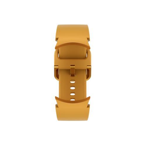 Samsung - Galaxy Watch4, Galaxy Watch4 Classic Sport Band, S/M, Mustard