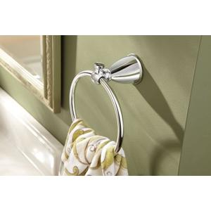 Caldwell chrome towel ring