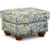 7237N Jeremie Ottoman with Nails