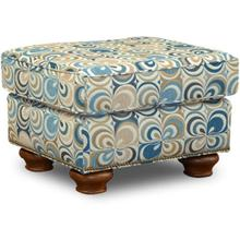 Jeremie Ottoman with Nails
